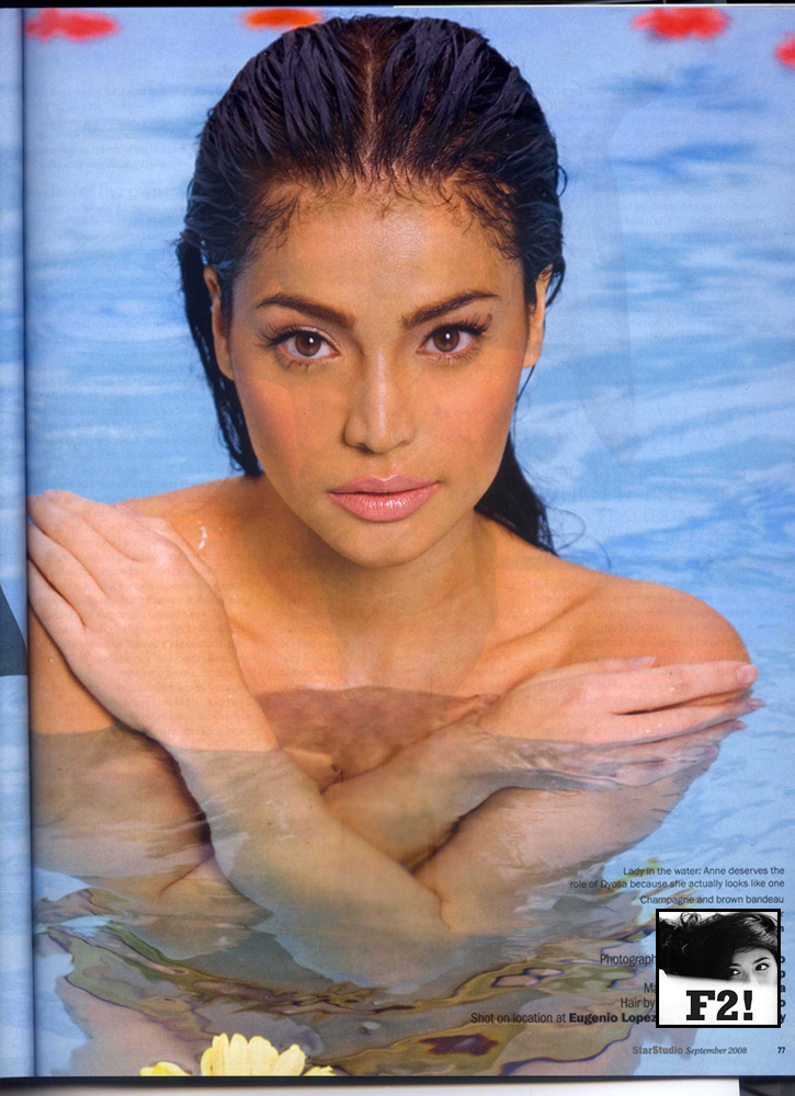 anne curtis in naked
