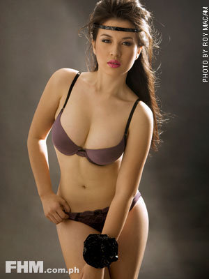 Janna Dominguez poses for FHM